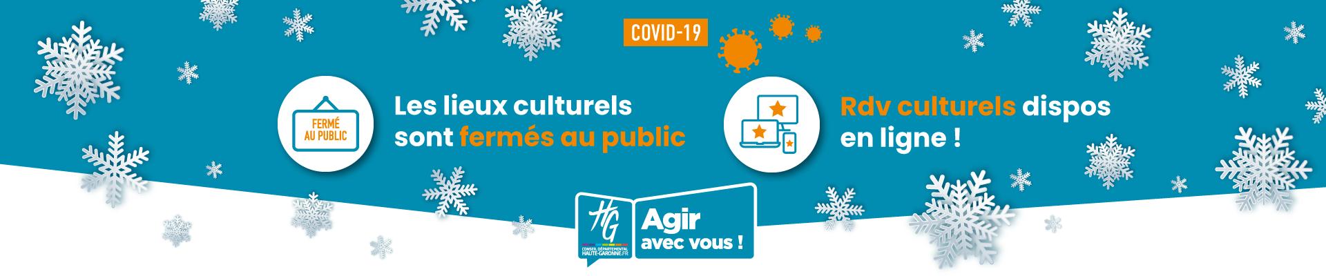 Reconfinement : suivez les actualités culturelles en Haute-Garonne