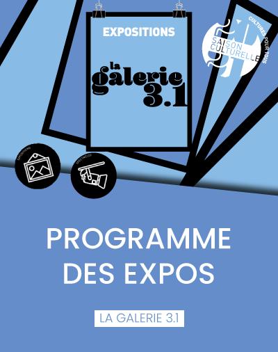 Programme de La galerie 3.1