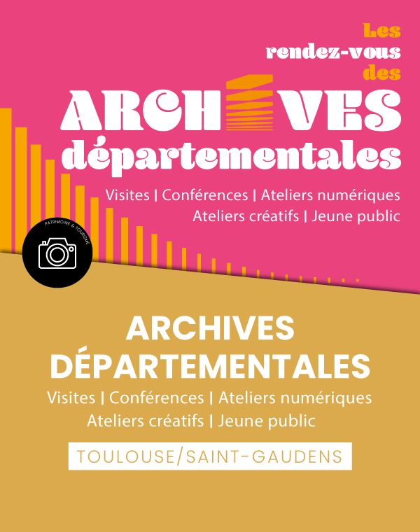 Les rendez-vous des archives départementales
